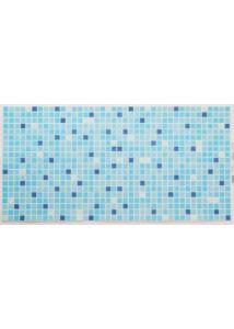 Mosaic Standart Blue - Mozaik mintás kék PVC falpanel