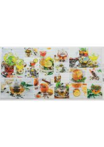 Mosaic Standart Green Tea - Tea mintás mozaik PVC falpanel