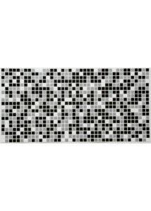 Mosaic Black csempe PVC falpanel