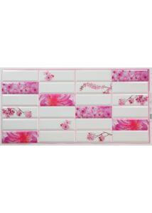 Sakura - Virágmintás PVC falpanel