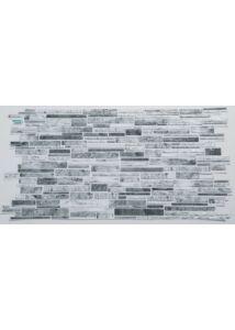 58957 világos szürke PVC falpanel