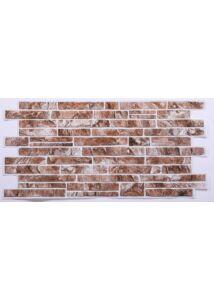 Brown Slate - Barna Pala PVC falpanel