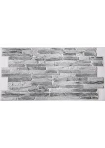 Silver-slate kő PVC falpanel