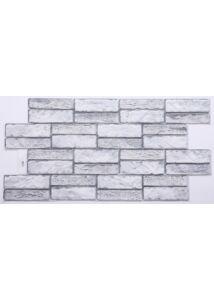 Stone Expanse Grey - Szürke Kő PVC falpanel