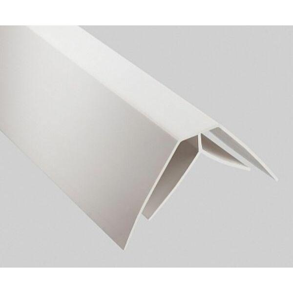 Belső sarok pvc műanyag profil 1,5 m