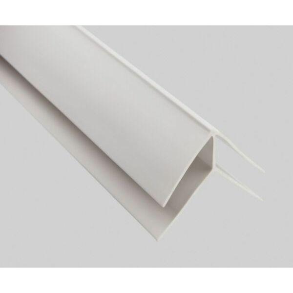 Külső sarok pvc műanyag profil 1,5 m