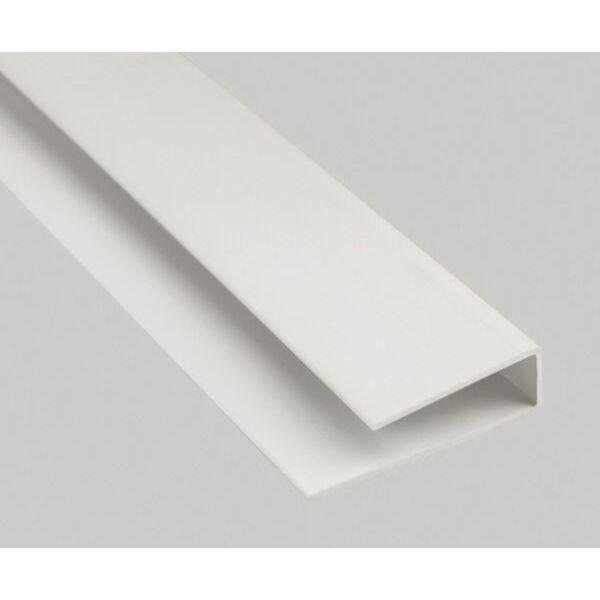 Záró pvc műanyag profil 1,5 m